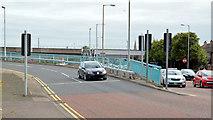 J3474 : Station Street/Bridge End flyover, Belfast (15 in 2013) by Albert Bridge