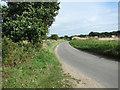 TG0935 : Bend in rural lane by Evelyn Simak