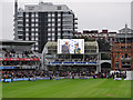 TQ2682 : Lord's: interviewing the winning captain by John Sutton