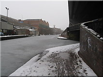 SP0990 : Aston under snow 11-Birmingham by Martin Richard Phelan