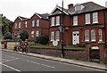 SU1431 : The Edwardian Lodge and Victoria Lodge, Salisbury by Jaggery