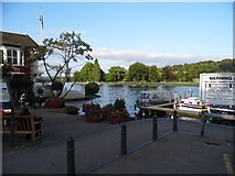 SU7682 : Looking across the River Thames at Henley by David Howard
