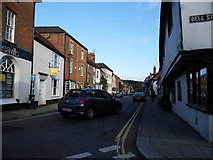 SU7682 : New Street at the corner of Bell Street, Henley by David Howard