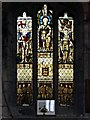 SD8706 : The Boer War Memorial Window, St Leonard's Church by David Dixon