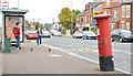 J3276 : Pillar box, Oldpark, Belfast by Albert Bridge