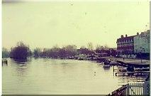 SU7682 : The River Thames at Henley, 1983 by David Howard