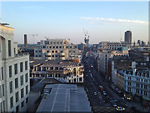 TQ3181 : The view south from 5 Fleet Place, City of London by Robin Stott