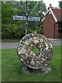 TM2757 : Village Sign by Keith Evans