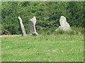 C5447 : Bocan stone circle near Culdaff by Oliver Dixon