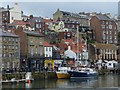 NZ8911 : Whitby quayside by Robin Drayton