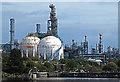 SJ5080 : Chemical works at Runcorn by William Starkey