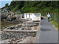 C6138 : Shore path at Moville by Oliver Dixon
