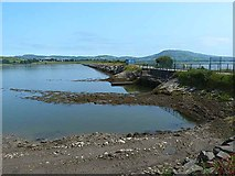 C3321 : Western Causeway, Inch Lake by Oliver Dixon