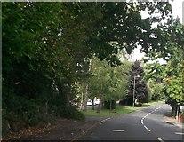 SU4321 : Hursley Road at Brownhill Road junction by John Firth
