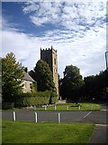NZ1647 : Old Manse and Parish Church, Lanchester by Stanley Howe