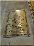 ST6316 : Sherborne Abbey: memorial (xvi) by Basher Eyre