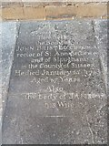 ST6316 : Sherborne Abbey: memorial (xxiii) by Basher Eyre