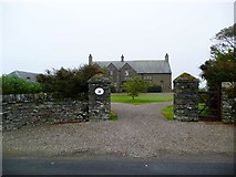 NR7625 : Fine entrance to Glenlussa Lodge by Gordon Brown