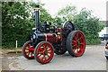SP9114 : Traction Engine - Bluebells Tea Room Car Park, Marsworth by Dave Hitchborne