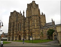 ST5545 : Wells Cathedral by Ian Rob