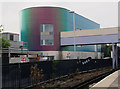 TQ5474 : Dartford station, new entrance building by Stephen Craven