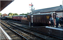 SO7975 : GWR tool & packing van at Bewdley railway station by Jaggery