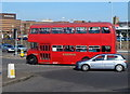 SS6592 : Red South Wales double-decker in Swansea by Jaggery