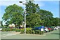 SJ8640 : Car park, Trentham Gardens Retail Centre, Trentham by Brian Robert Marshall