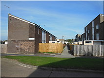 TA1033 : Houses on Stroud Crescent East, Bransholme by Ian S