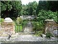 TQ1765 : Entrance to the Garden of Rest, Long Ditton Churchyard by Marathon