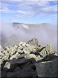 SH6659 : Summit View Tryfan by Chris Andrews