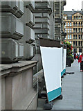 NS5965 : Damaged wall at the City Chambers by Thomas Nugent