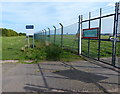 SK4526 : Emergency gate at East Midlands Airport by Mat Fascione