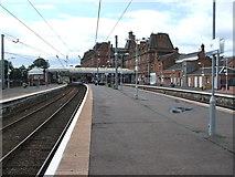 NS3421 : Ayr railway station, Ayrshire by Nigel Thompson