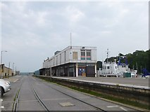 SY6878 : Weymouth Quay Station by Mike Faherty