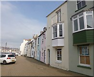 SY6878 : Weymouth, Hope Street by Mike Faherty