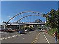 SK5438 : Nottingham Tram bridge over Clifton Boulevard by SK53