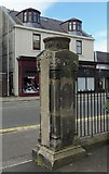 NS2776 : Gate Post Detail at St Thomas' Church (Former), Grey Place, Greenock by Terry Robinson