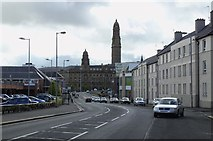 NS2876 : Victoria Tower, from Dalrymple Street, Greenock by Terry Robinson