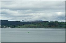 NS2982 : Helensburgh and Ben Lomond viewed from P&O's Adonia, sailing into Greenock by Terry Robinson