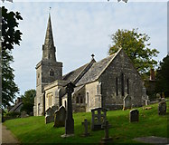 SY5889 : The Church of St. Michael and All Angels, Littlebredy, Dorset by Edmund Shaw