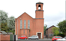 J3574 : St Martin's Church of Ireland, Ballymacarrett, Belfast (1) by Albert Bridge