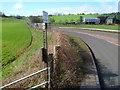 SO5819 : Wye Valley Walk on the left near Goodrich by Jaggery