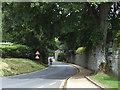 SE0753 : Cycling through Bolton Abbey village by Stephen Craven