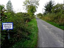 H1114 : Road at Unshinagh by Kenneth  Allen