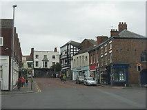 SJ6552 : High Street at Nantwich by M J Richardson