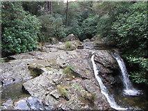 J3629 : Falls on the Glen River by Gareth James