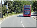 TL4359 : Park and Ride Bus on Madingley Road by David Dixon