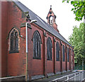 SJ8990 : Heaton Norris - St Mary's RC Church by Dave Bevis
