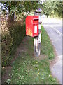 TG2603 : 53 Norwich Road Postbox by Adrian Cable